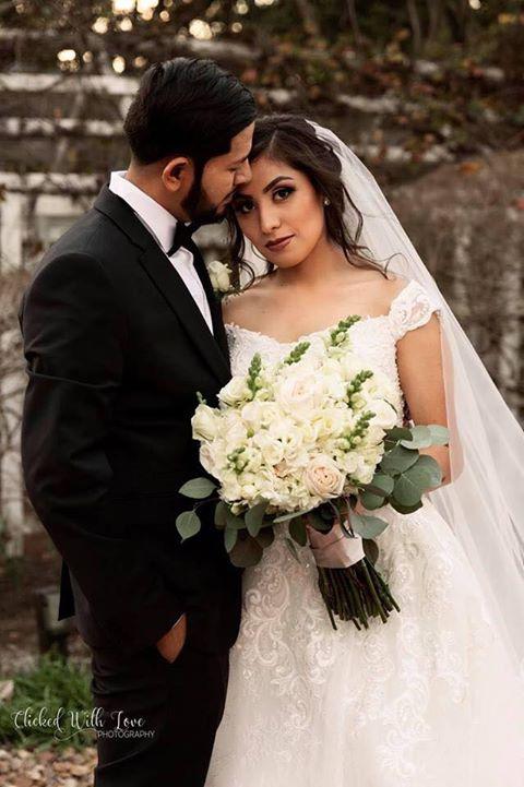 Allure Bridals. Beaded Ballgown, Parvani Vida Bridal
