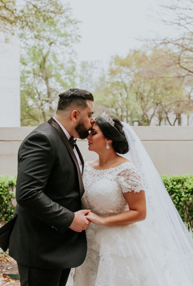 Allure Bridal, Overskirt bling Wedding dress