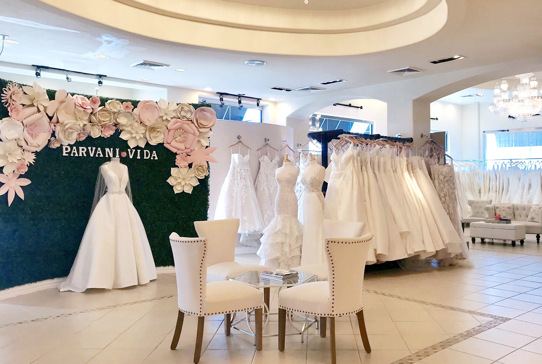 wedding dress store houston - services - alterations